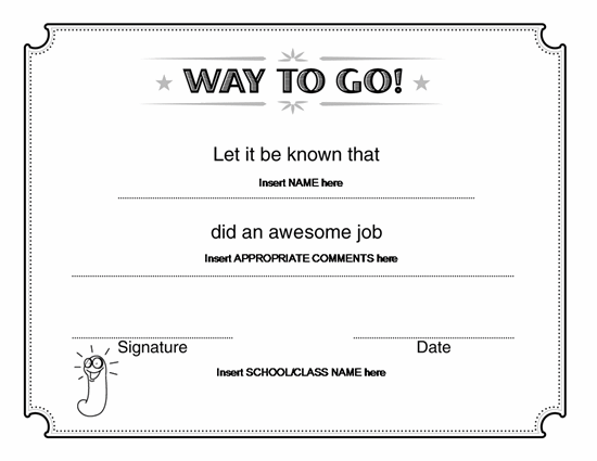 Ms Word Certificate Templates 9 best images of award certificate – Certificate Template Ms Word
