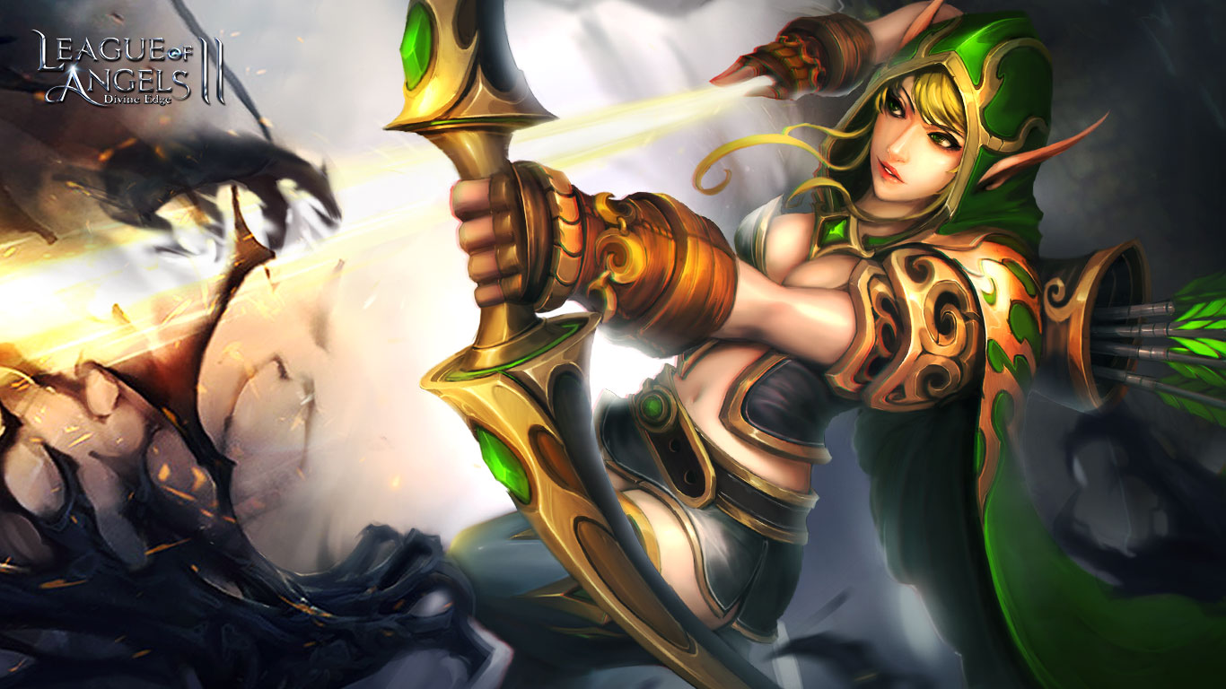 League of Angels 2: new and sexy angels wallpapers released  League of Angel...
