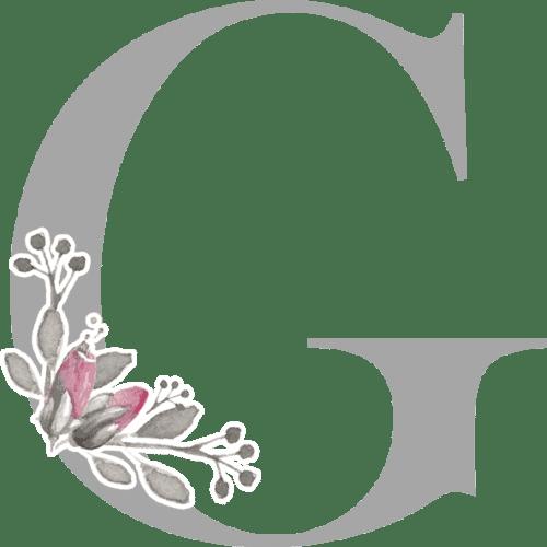 Circle Monogram Examples