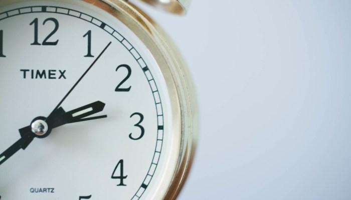 time clock delay