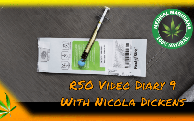 Free My Cure RSO Video Diary 9  with Nicola Dickens  #FreeMyCure  **Re-Published**