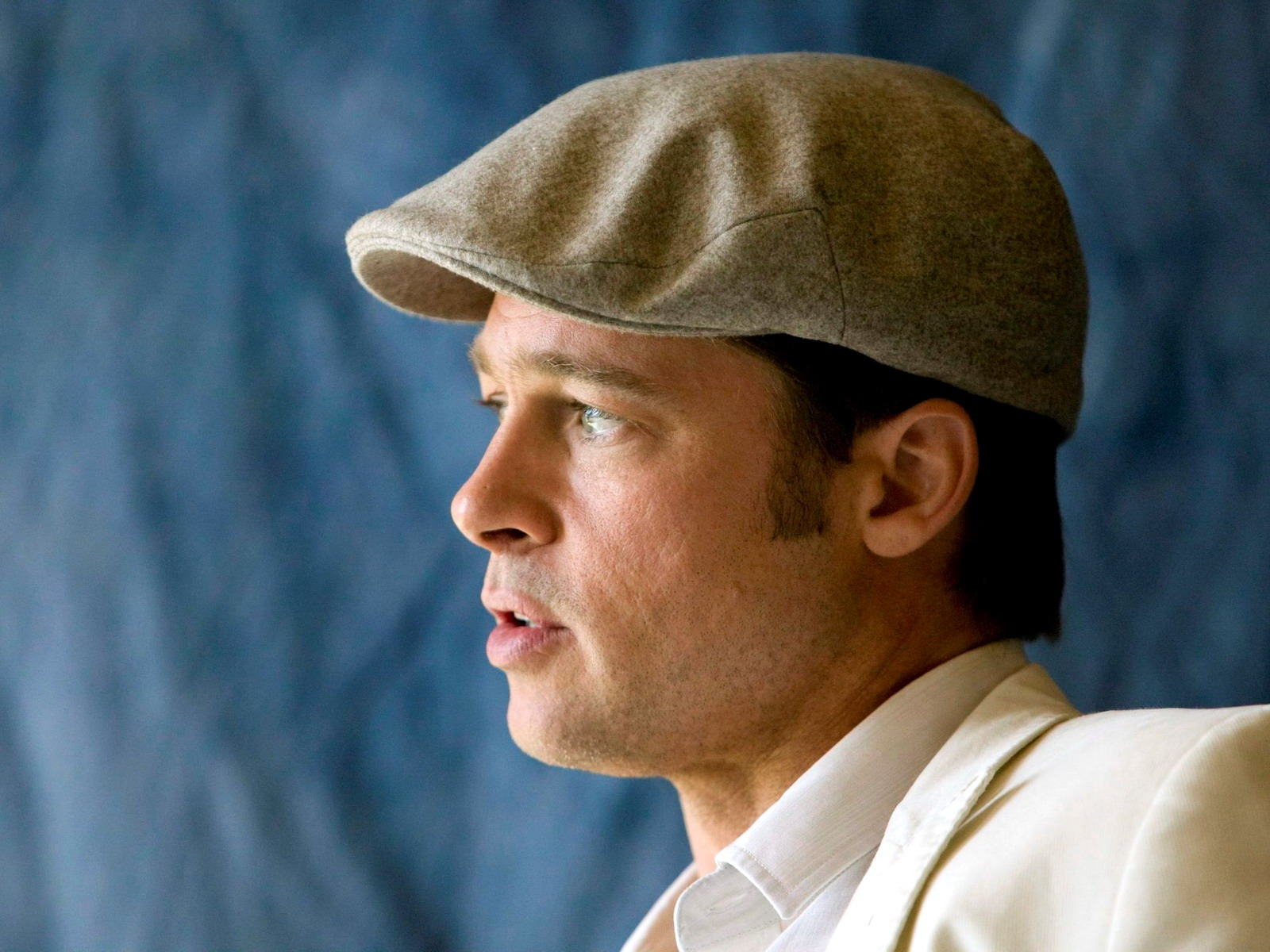 Brad Pitt in the cap