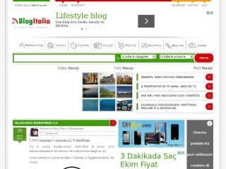 Anteprima sito: BlogItalia.it