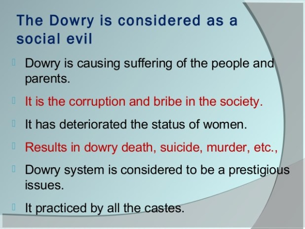 Dowry – A Social Evil That Is Here To Stay