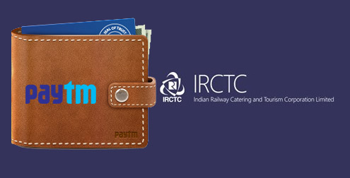 IRCTC Train Tickets can now be booked using Paytm