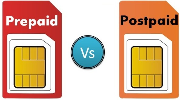 Prepaid and Postpaid Mobile Connections