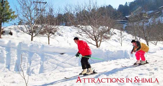 shimla tourist places