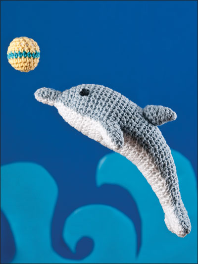 Playful Dolphin Crochet Free Patterns