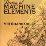 Design of Machine Elements by V B Bhandari PDF