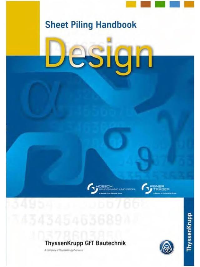 Sheet Piling Handbook Design