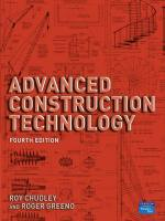 Advanced Construction Technology book