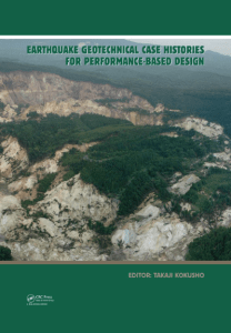Earthquake Geotechnical Case Histories for Performance Based Design