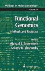 Functional Genomics – Michael J. Brownstein, Arkady B. Khodursky