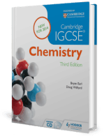 Cambridge IGCSE Chemistry 3rd Edition by Bryan Earl and Doug Wilford