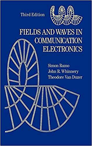 Field and wave in communication electronics(Third edition) by Simon Ramo, John R.Whinnery & Theodore Van Duzer