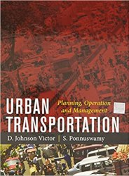 Urban Transportation: Planning, Operation and Management Book Pdf Free Download