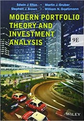 Modern Portfolio Theory and Investment Analysis book pdf free download