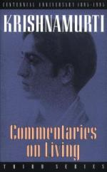 Commentaries on Living: Second Series book pdf free download