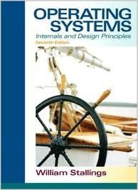 Operating Systems: Internals and Design Principles book pdf free download