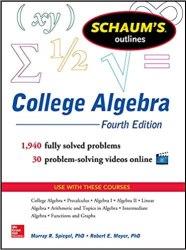 Schaum's Outline of College Algebra book pdf free download