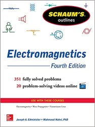 Schaum's Outline of Electromagnetics Book Pdf Download