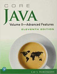 Core Java Volume II - Advanced Features Book Pdf Free Download