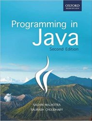 Programming in Java Book Pdf Free Download