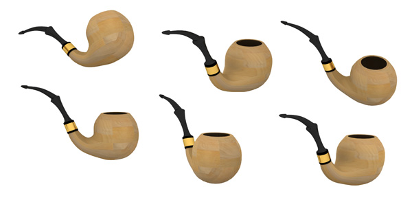 Tobacco Pipe PSD and Picture