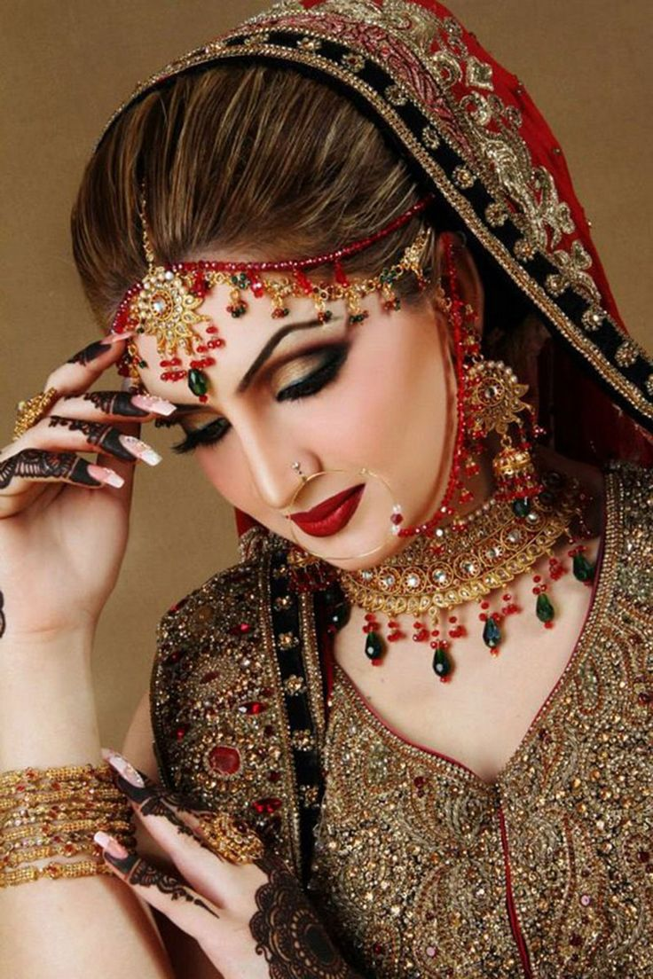 Indian Bridal Makeup With Heavy Jewelry 19 Free All Items