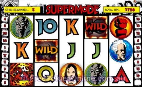 Hellboy Supermode - Free Spins Feature