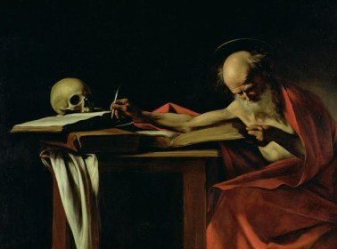 old-man-writing-with-skull