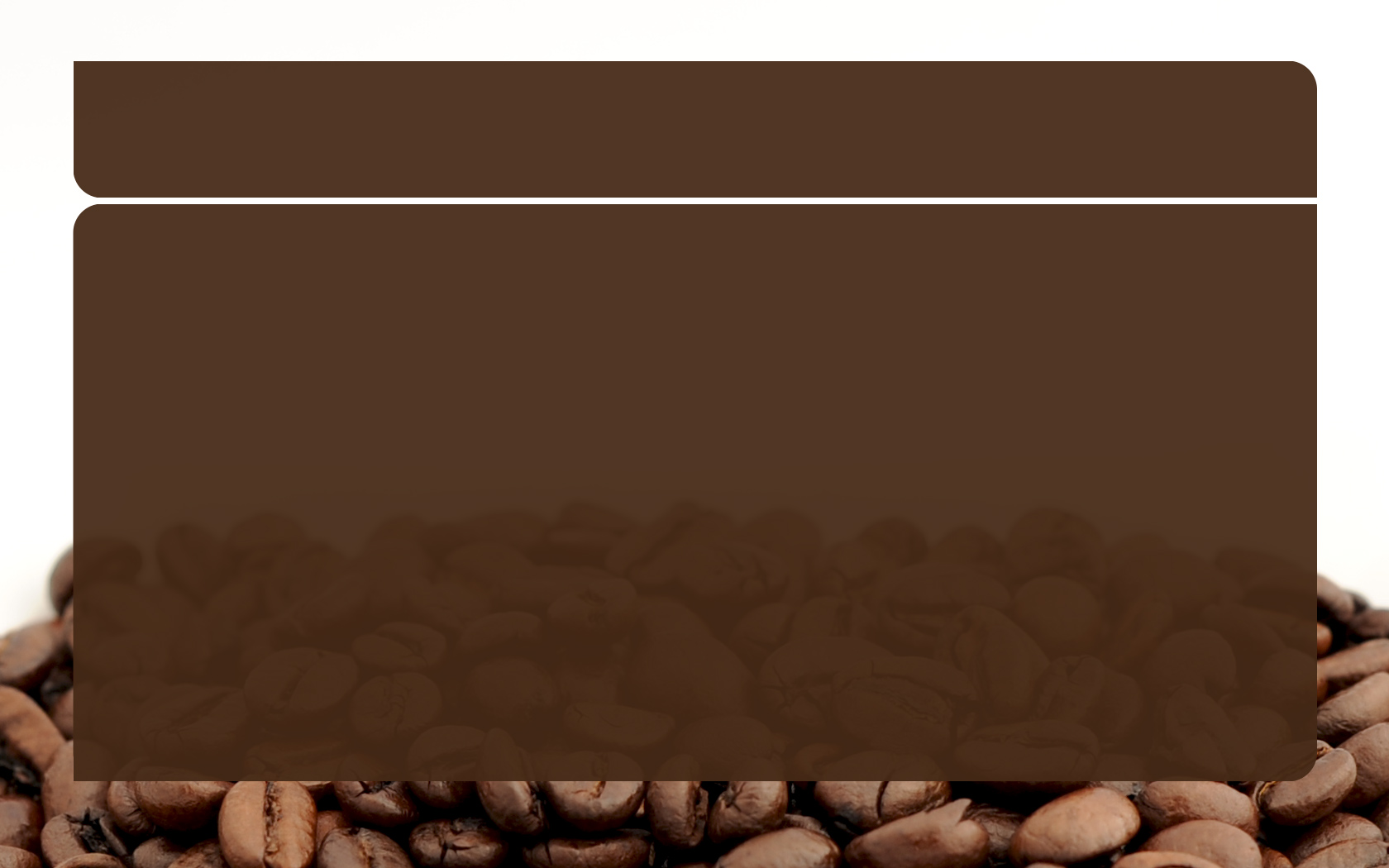 coffee powerpoint powerpoint template ppt backgrounds templates