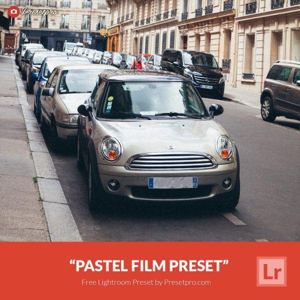 Preset Lightroom Pastel Film