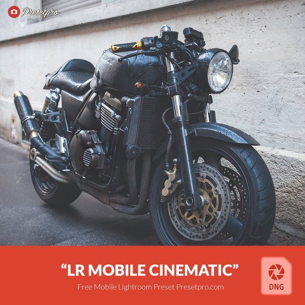 Preset Lightroom Mobile Cinematic