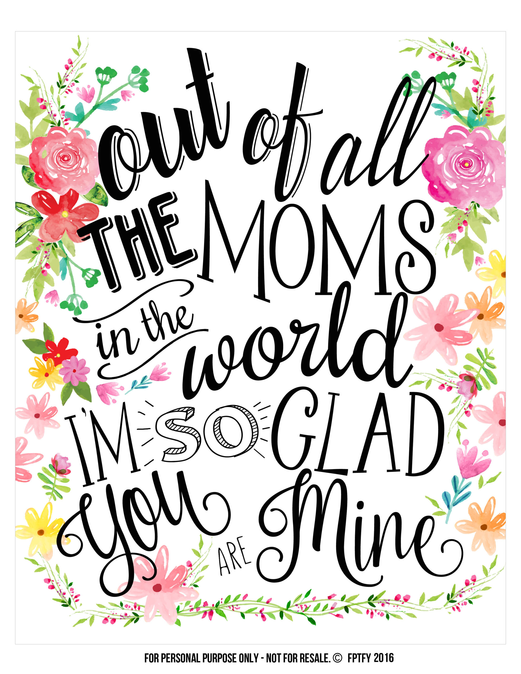 Creative Mother S Day Ts Tags And Wall Art Included