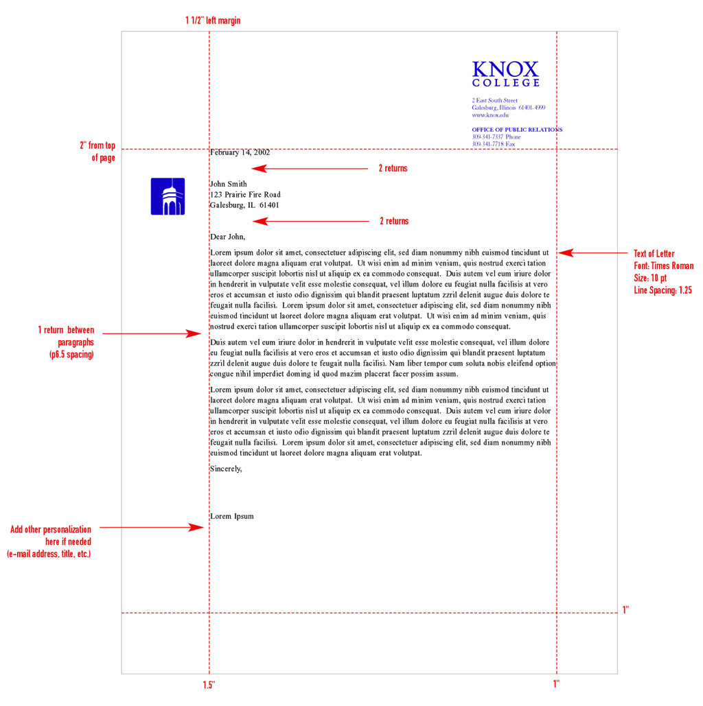 How To Put A Logo And Writing In Letterhead