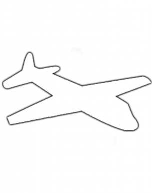 free printable activities off with this airplane drawing today
