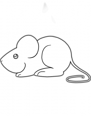 cute mouse activities template as a coloring sheet or cut it out to