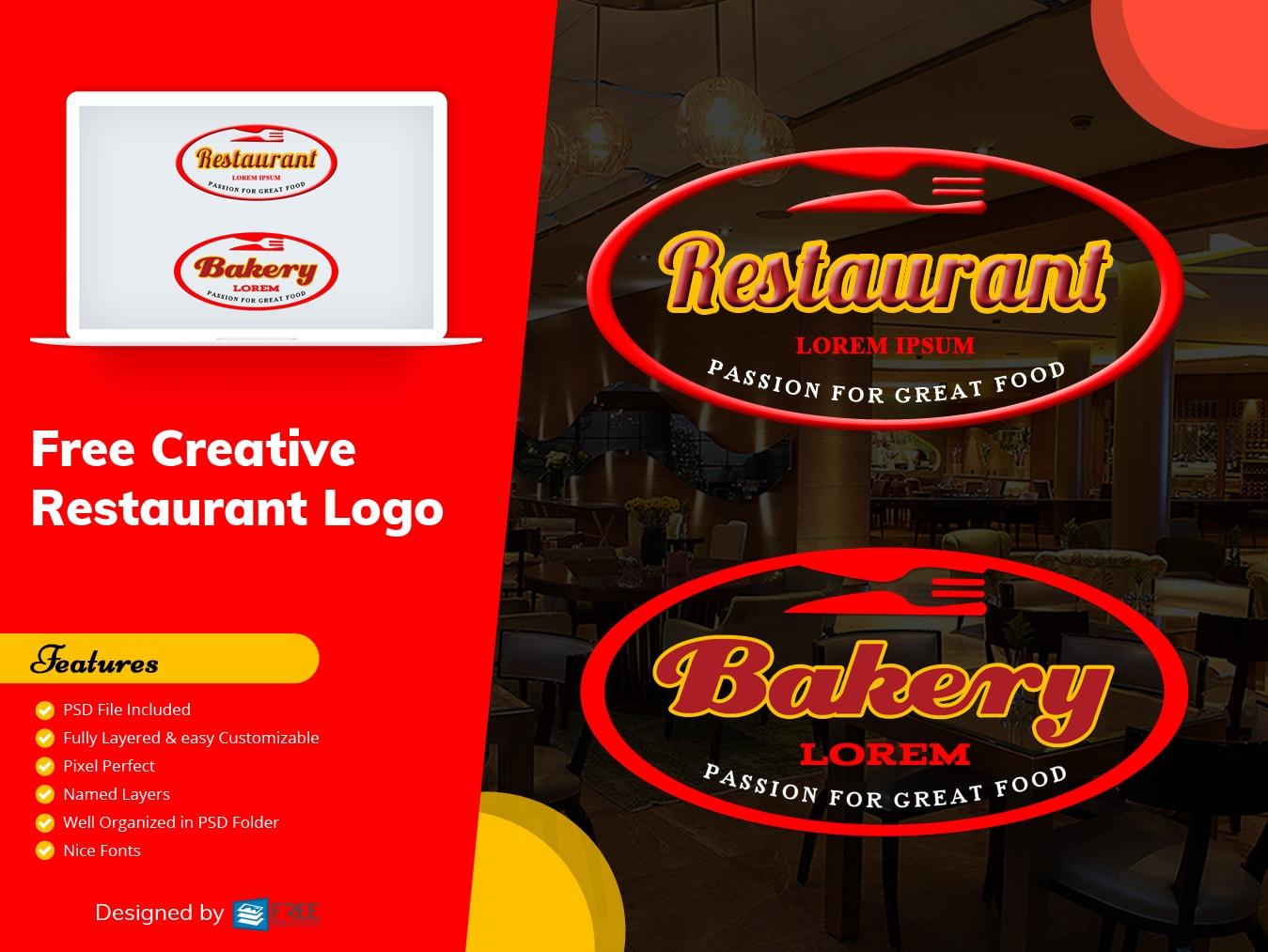Free Creative  Restaurant Logo