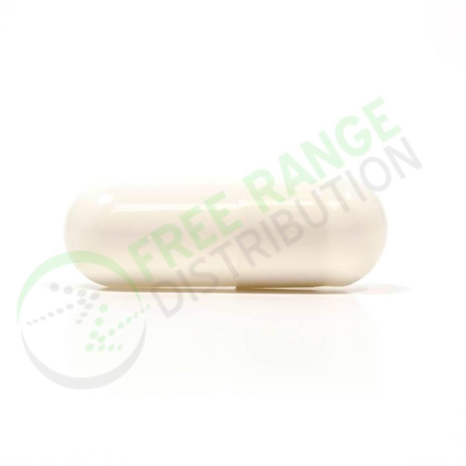 White Gelatin Capsules
