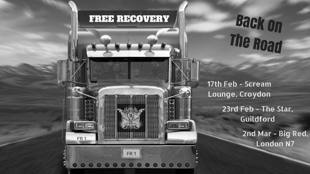 Free Recovery On the Road - Gig listings