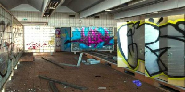 Abandoned Pankow Schwimmhalle Escape