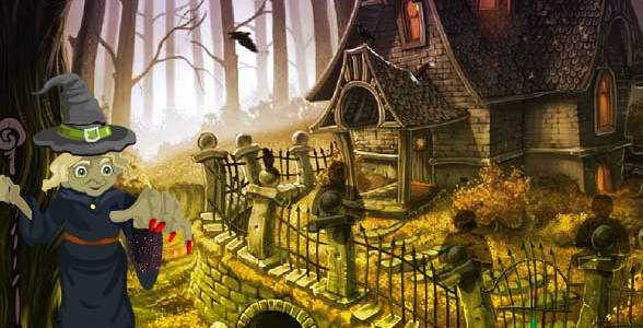 Wow Halloween Witch Forest Escape