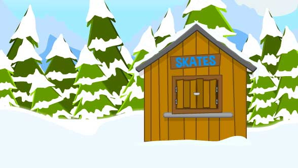 Toon Escape - Ice Rink