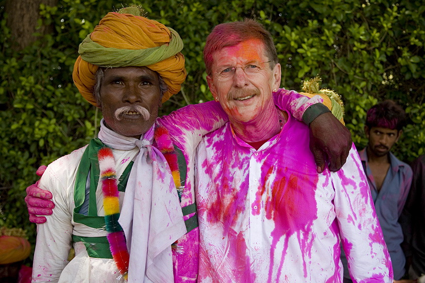 Celebrating Holi in India with F|S photographer Neil Greentree