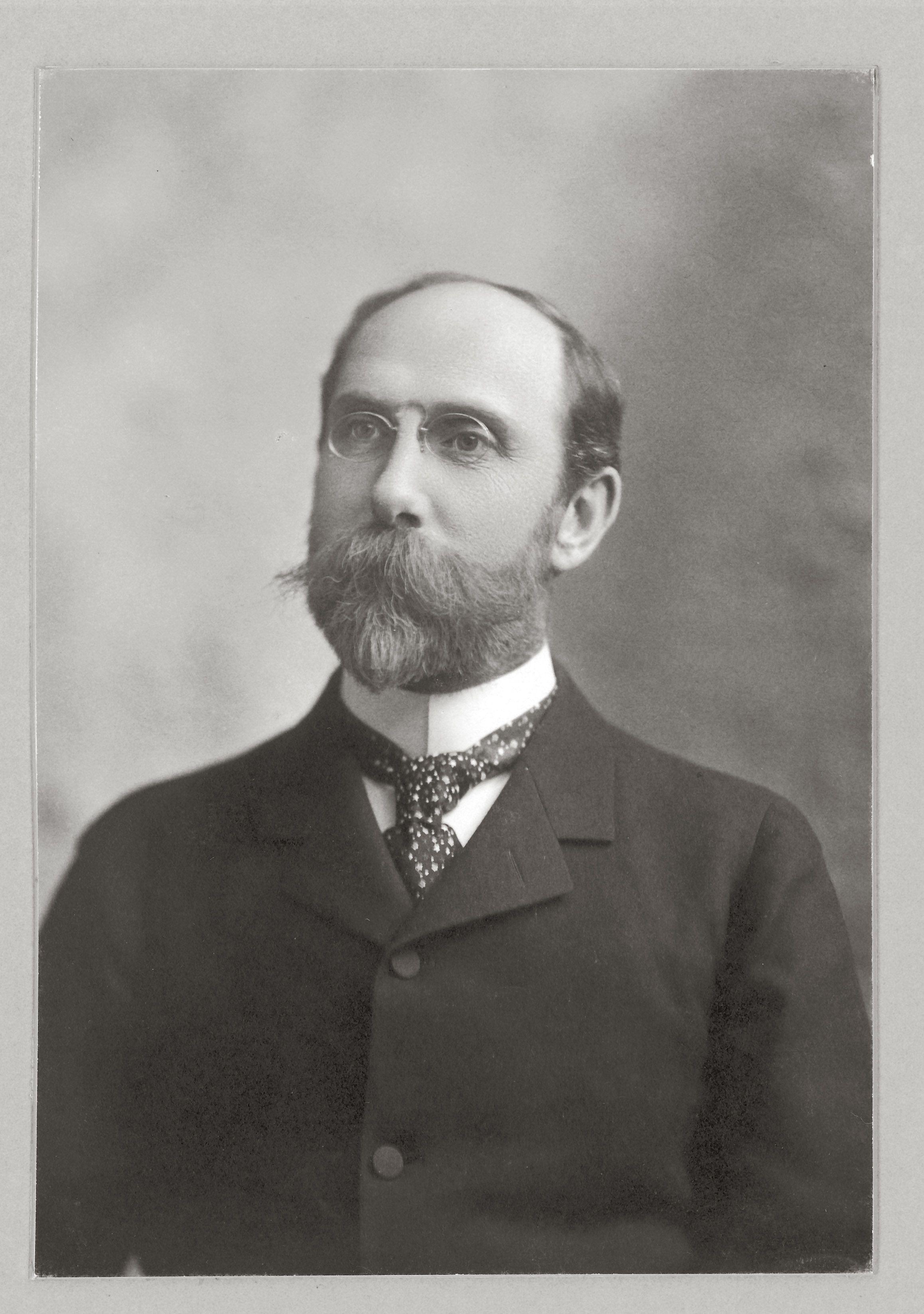 Charles Lang Freer ca. 1905, Charles Lang Freer Papers, Freer Gallery of Art and Arthur M. Sackler Archives.