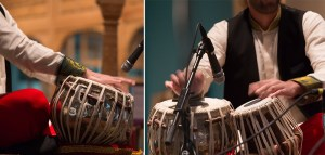 close up image of musicians playing percussion instruments