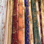 Kurdish textile for women dresses
