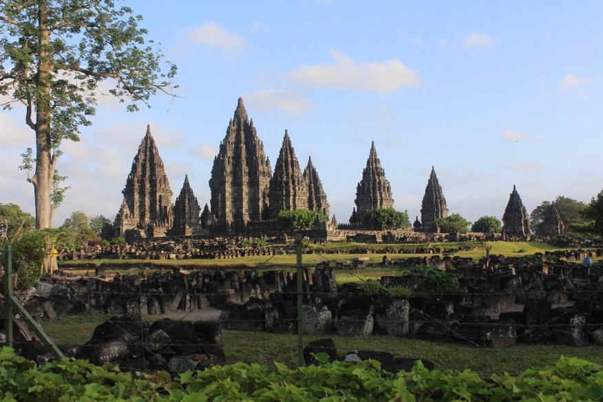 The temple-complex of Loro Jonggarang at Prambanan