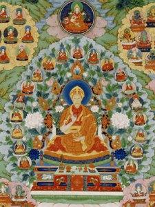 F2000.4, The Qianlong Emperor as Manjusri, the Bodhisattva of Wisdom